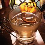 2月限定のホットウイスキー! ドライリンゴフロート500円