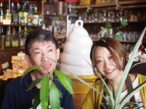 春です!桜餅ソフトクリーム はじまりました(300円)