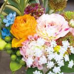 最近、花の種類や色のバリエーションが どんどん増えてます!